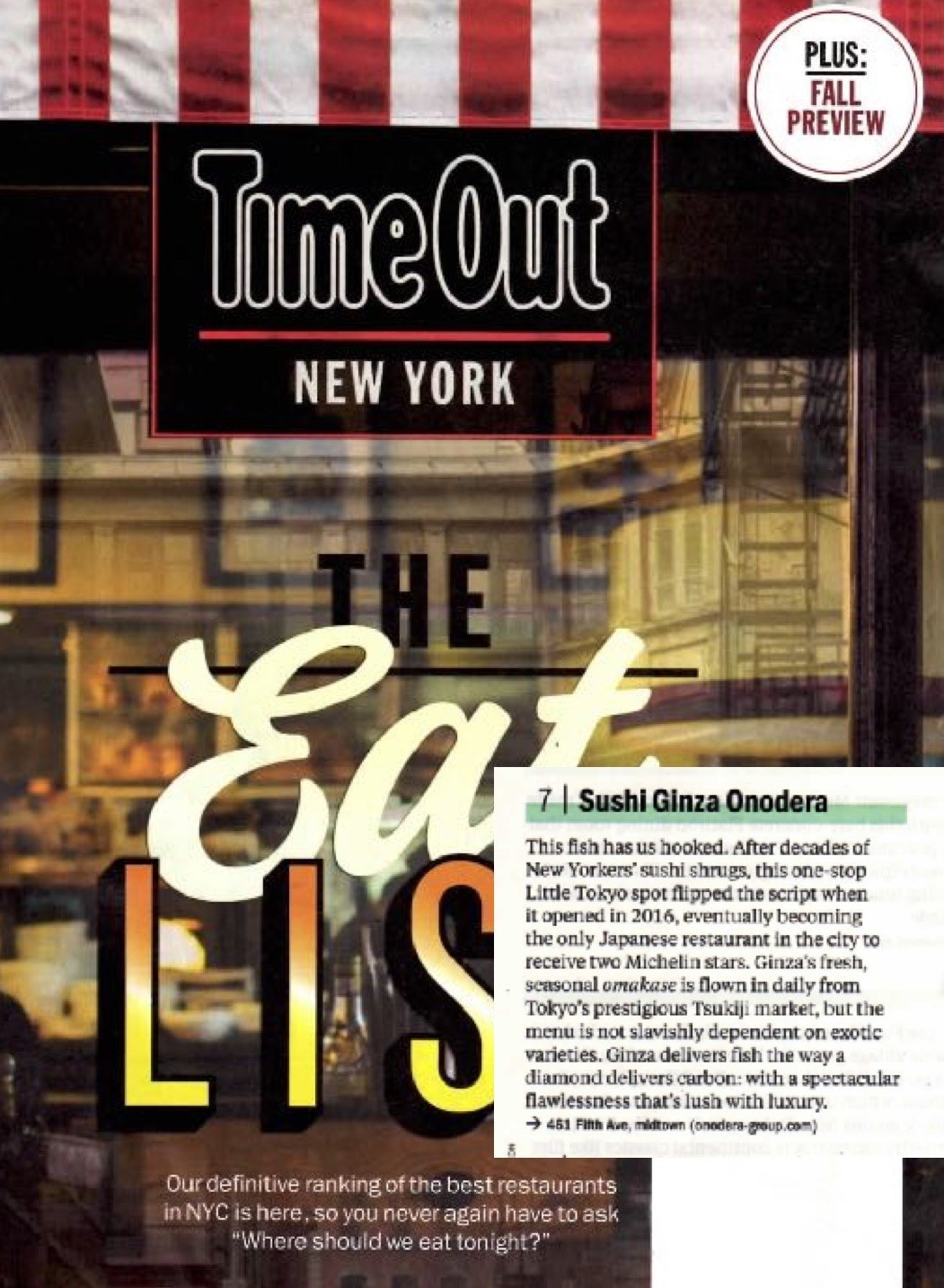 Time Out New York, a short review