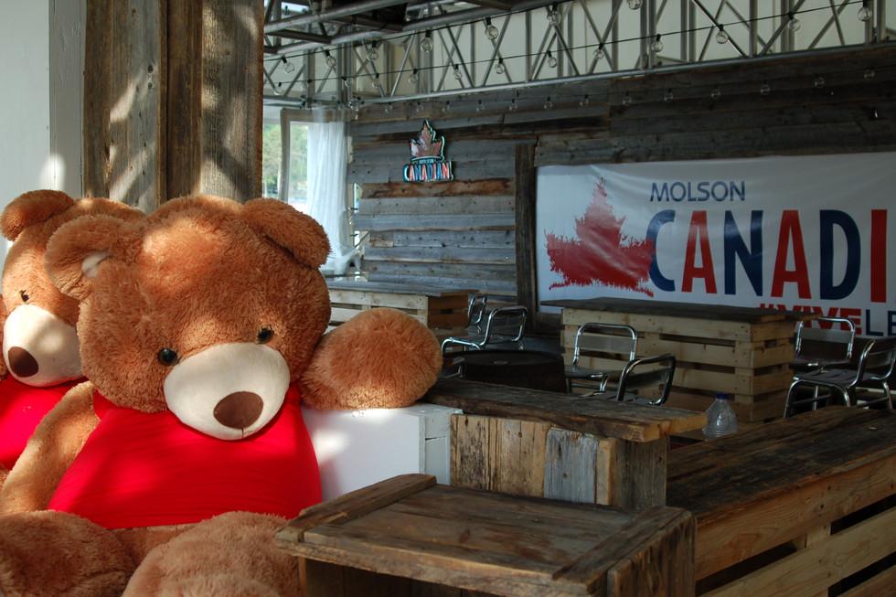 Molson Canadian - Ourson + Lounge.JPG
