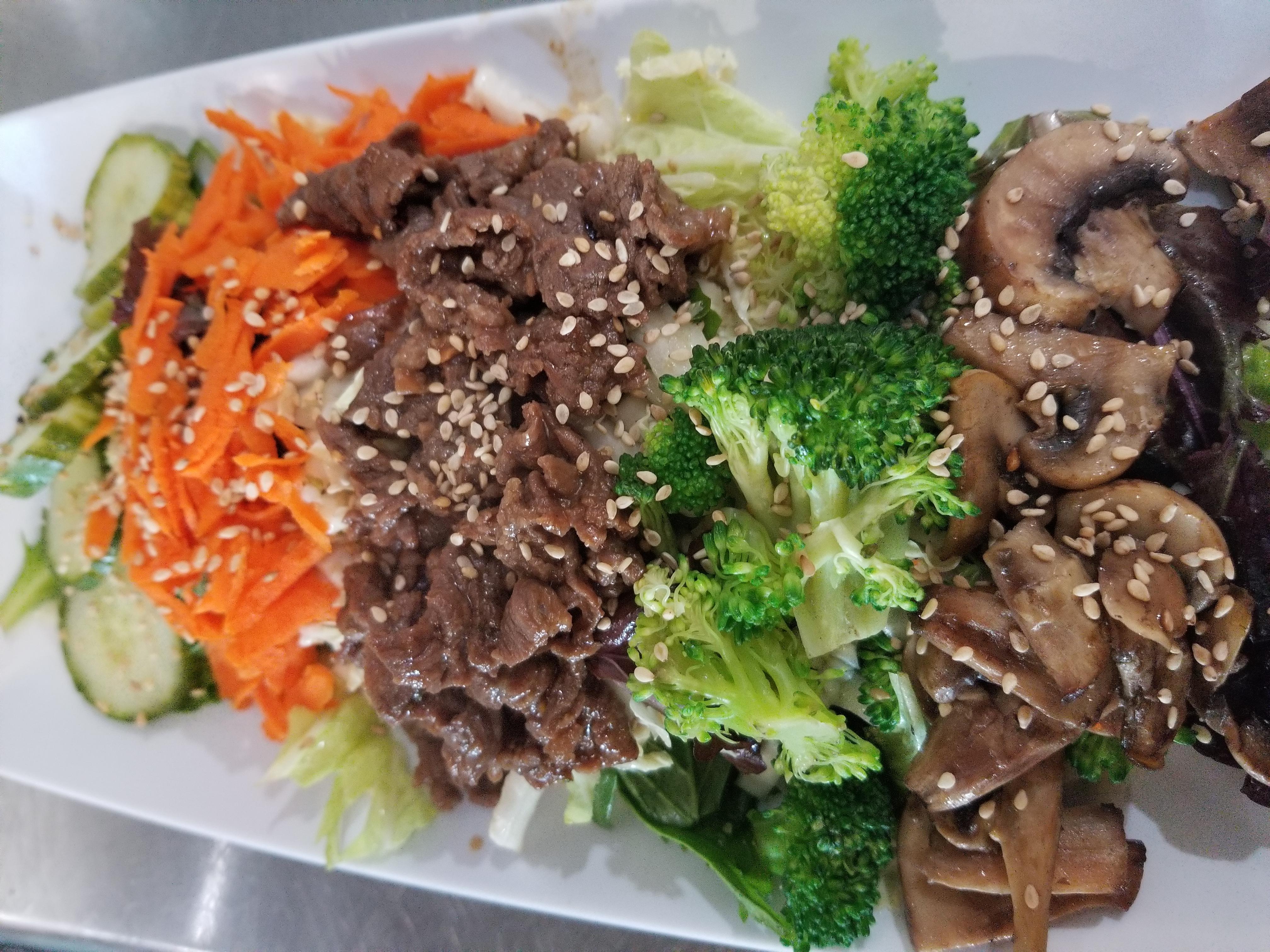 bulbogi salad