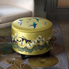 Birds Ottoman