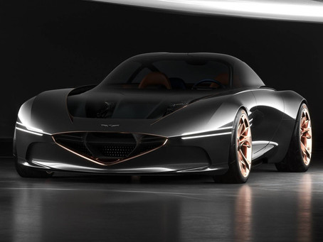 Genesis releases teaser of a new car : is it the  Essentia Electric Coupe ?