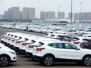 China records a 75% growth in auto sales in March.