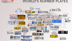 Number Plates of around the World … What they tell?- A look at  TOP 25 Countries Around the world.