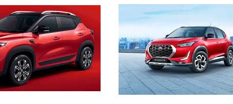 CAR  COMPARISON : Nissan Magnite v/s Renault Kiger