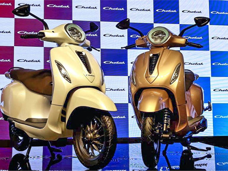 Booking for the Bajaj Chetak E- Scooter reopen from 13 April 2021.