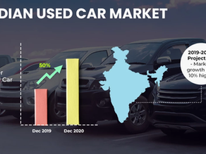 Top 5 reasons for the rapid growth of the USED CAR Industry in India.