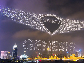 Hyundai-owned Genesis sets a new World record for most drones in the sky!