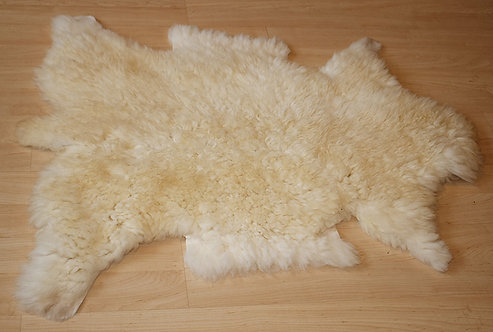 Peau de mouton Blanc des Alpes