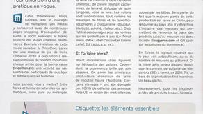 Article paru dans le journal de la FRC en février 2016