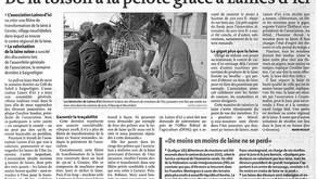 Article paru dans le Quotidien Jurrassien le 10 avril 2017