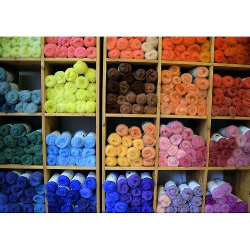 Fagot laine cardée Teint