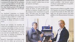 Article paru dans Val de Ruz info le 9 novembre 2017