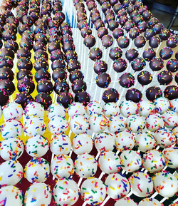 Current Situation_ 500 Cakepops for Our Friends at the Chamber of Music