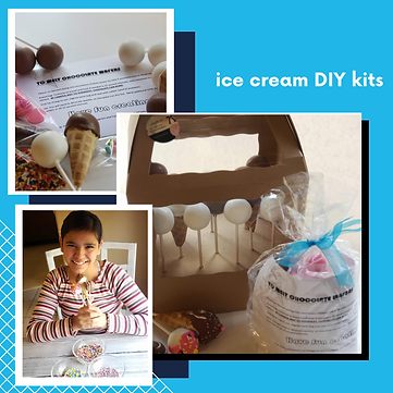 IIY ice cream cakepop kits