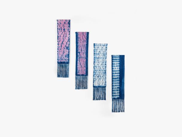 Woven Shibori Wall Hangings