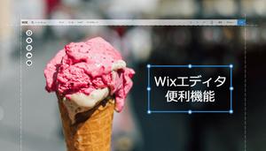 Wixスタッフのおすすめ!Wixエディタ便利機能