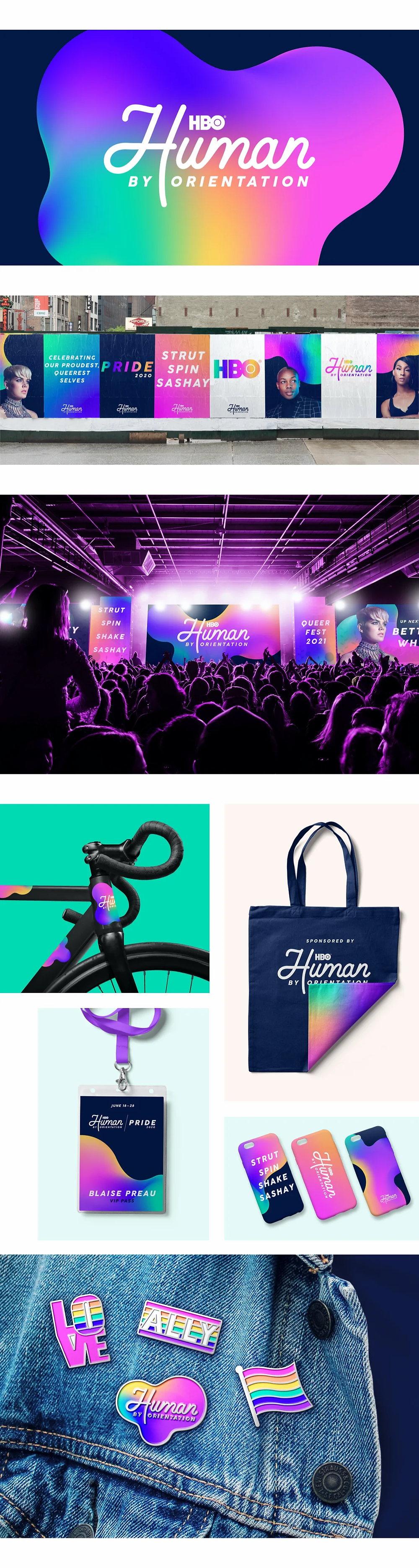 Best branding of 2020: Human After All's visual identity for HBO's Human by Orientation
