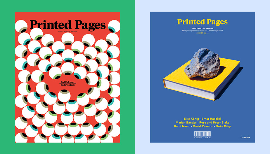 Graphic design magazines - Printed Pages