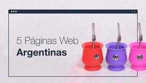 Páginas Web Argentinas