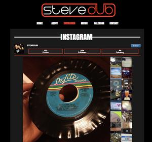 Instagram de Steve Dub