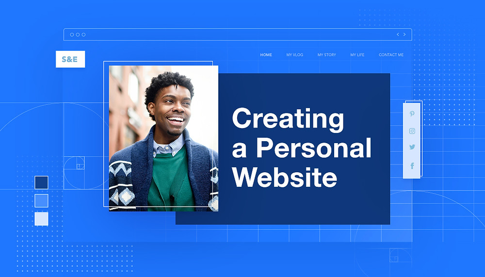 How to make a personal website
