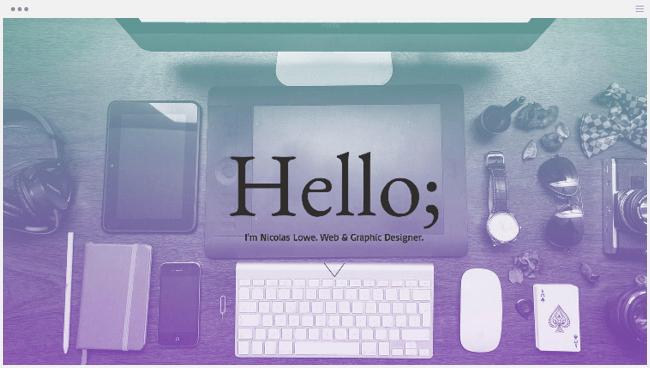 Webデザインポートフォリオ