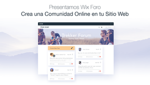 Aumenta tu comunidad online con Wix Foro
