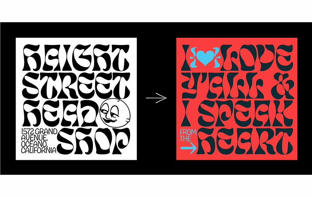Best typography of 2020 by Ohno Type Co. for their typography collections
