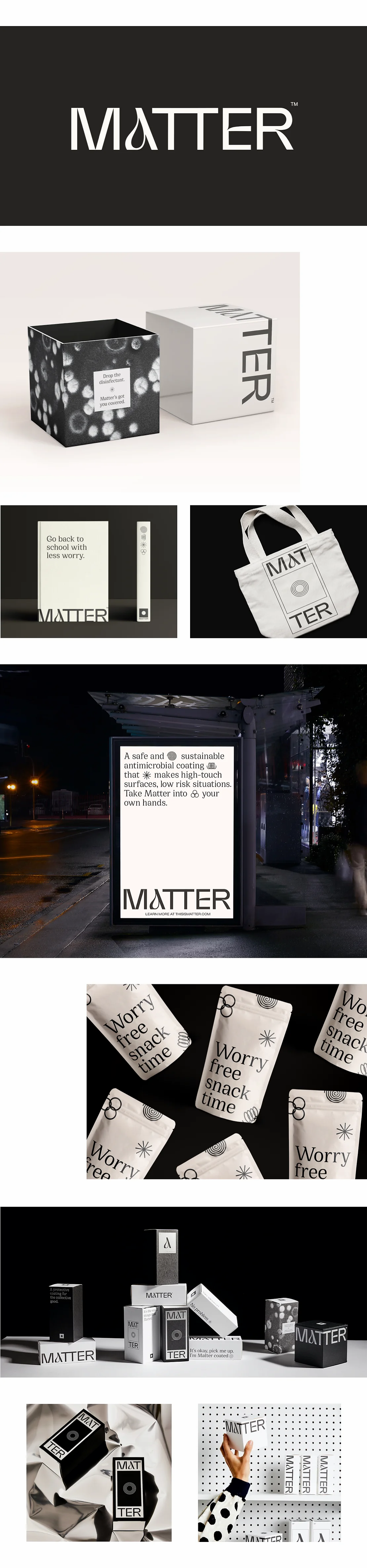 Best branding of 2020: Matter by Designsake Studio