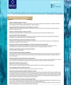 MCG Cruceros FAQ