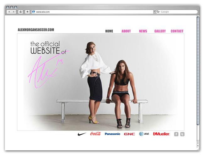 Sitio Oficial de Alex Morgan