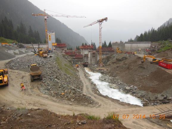 Impianto idroelettrico Russein (GR - CH)