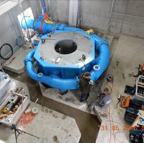 Impianto idroelettrico Tschar (GR - CH)