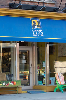 Ed's real scoop ice cream in Leslieville