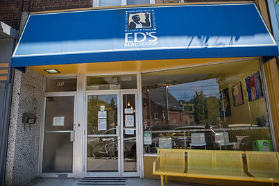 Ed's real scoop ice cream in Roncesvalles