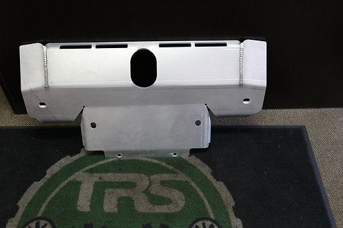 LR3, Aluminum front skid plate