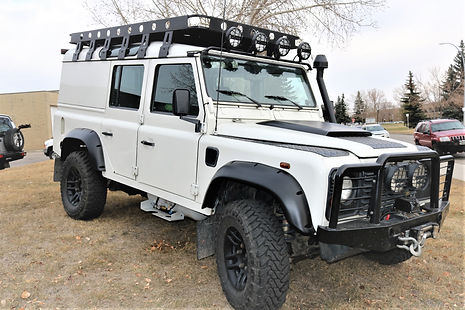 Land Rover Defender Calgary
