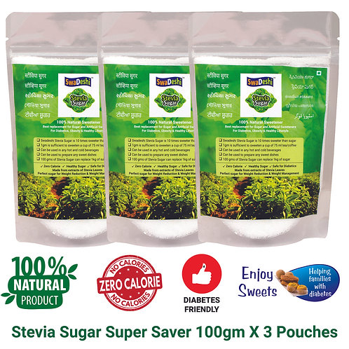 Stevia Sugar Super Saver Pack