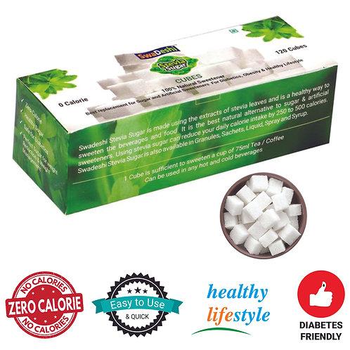 Stevia Sugar Cubes (100grms 120cubes)