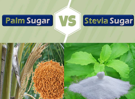 What is the Difference between Palm Sugar & Stevia Sugar?