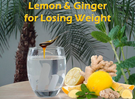 Lemon and Ginger for Losing Weight