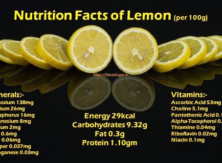 Unlimited Benefits of Lemon