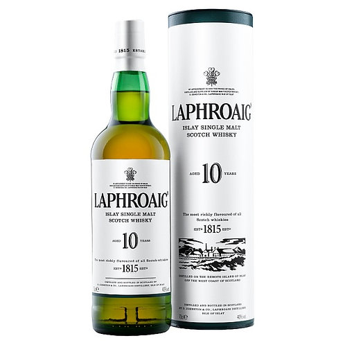 Laphroaig Islay Single Malt Scotch Whisky 10 Years Old 700ml