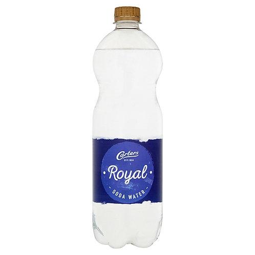 Carters Royal Soda Water 1 Litre