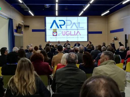 Creative Intelligence realizza il logo istituzionale ed il portale web dell'ARPAL Puglia