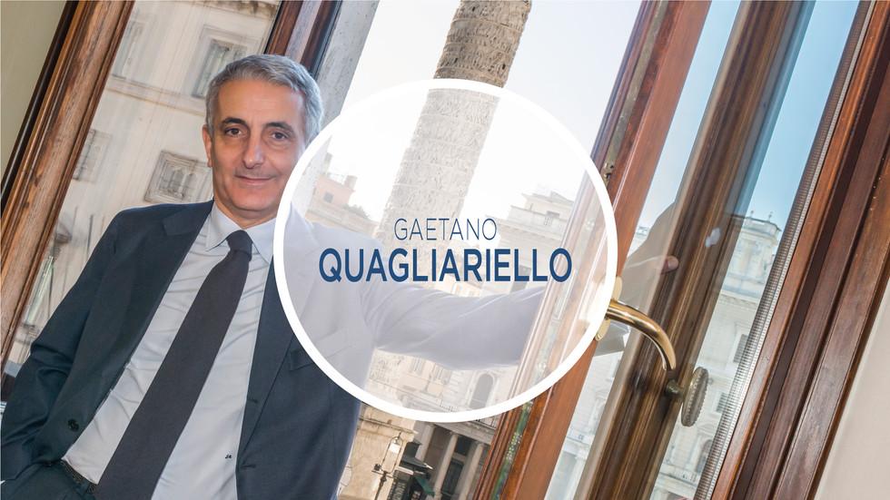 Gaetano Quagliariello - Ministro Riforma Costituzionali