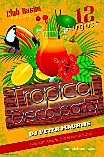 70's 80's 90's disco party merenque bachata zuid holland