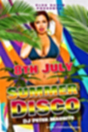 70's 80's 90's disco night met Dj Peter Maurits van Airport dancing