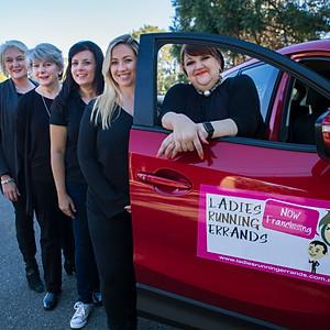 Ladies Running Errands