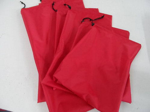 Coated Nylon Storage Bags (x6)